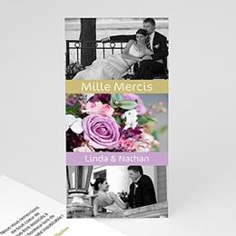 Remerciements Mariage Personnalisés - Amitiés - 3