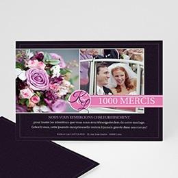 Remerciements Mariage Personnalisés - Du bouton à la fleur - 3