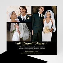 Remerciements Mariage Personnalisés - Un Grand Merci - 3
