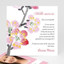 Remerciements Communion Fille - Floraison de l'Esprit - 3