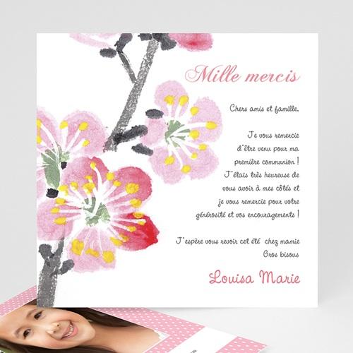 Remerciements Communion Fille - Floraison de l'Esprit 12562