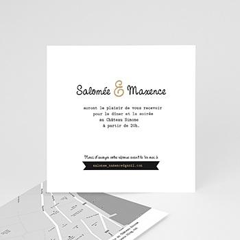 Cartons d'Invitation Personnalisés - Graphic Chic - 2
