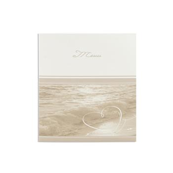 Menus Mariage traditionnels - Menu vague sur le bord de plage - 3