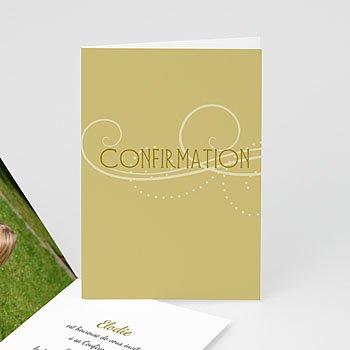 Invitation Confirmation  - Profession de Foi - Fille - 3