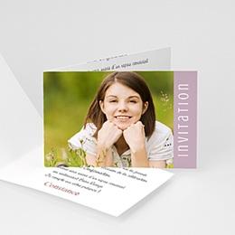 Invitation Confirmation  - Dragées - Fille, garçon ou jumeaux - 3