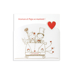 Faire-part Mariage Traditionnels - En route vers le mariage - 1