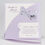 Faire-Part Mariage Traditionnel - Papillons Violets 15088 thumb
