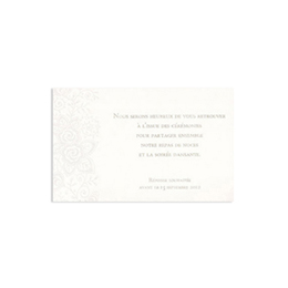 Cartons d'Invitation traditionnels - Lunch Grand Style - 1