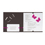 Faire-Part Mariage Traditionnel - Papillons chocolat 15305 thumb