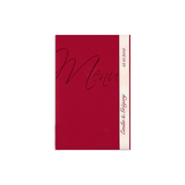 Menus Mariage traditionnels - Rouge Passion - 200.001 - 1