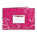 Fuchsia et arabesques roses - 3