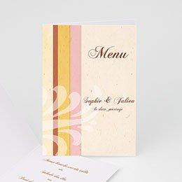 Menu Mariage Personnalisé - L'Acanthe - 1