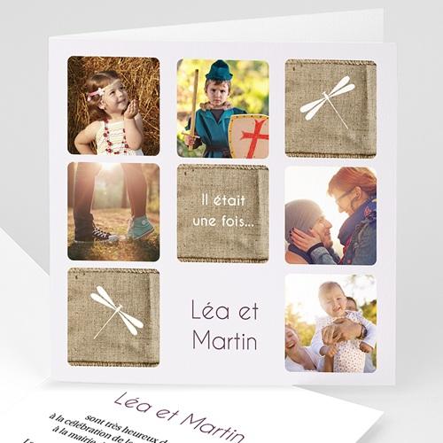 Faire-Part Mariage Personnalisés - Libellules 16547