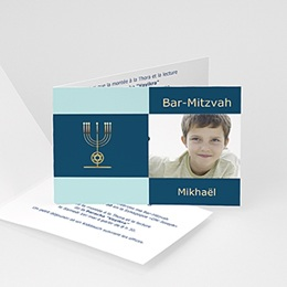 Faire-part Bar-Mitzvah - Bar-mitzvah Photo - 1