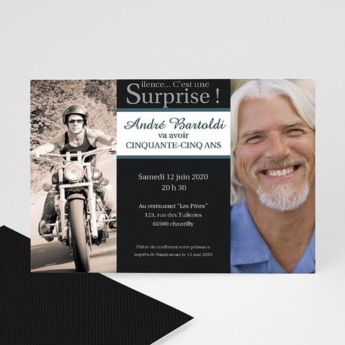 Invitation Anniversaire Adulte - Super Surprise 1688