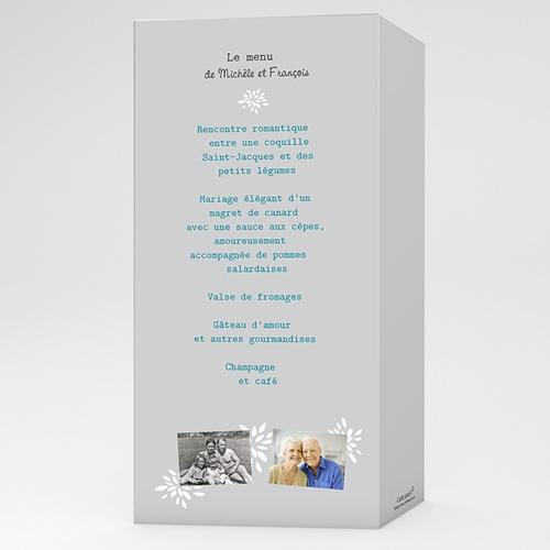 Menu Anniversaire - Florilège de souvenirs 17344