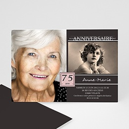 Invitation Anniversaire Adulte - Souvenirs marquants - 3