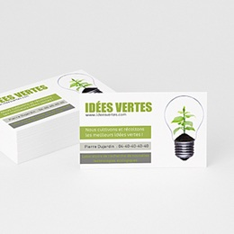 Carte de Visite - Go Green - 2
