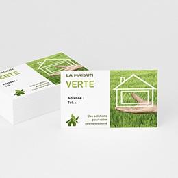 Carte de Visite - Tendance Verte - 2
