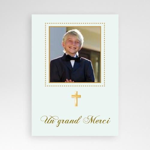 Remerciements Communion Garçon - Classique - Justin 19