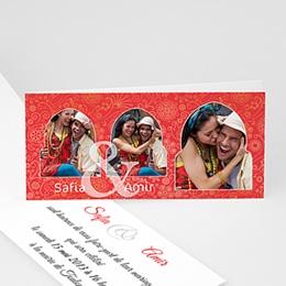 Faire-Part Mariage Personnalisés - Mariage oriental - 3