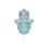 Faire Part Oriental - Fatma - Turquoise 21618 thumb