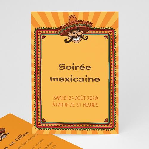 Invitation Anniversaire Adulte - Soirée mexicaine 21755