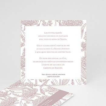 Cartons d'Invitation Personnalisés - Un air d'autrefois - 4
