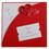 Faire-Part Mariage Traditionnel - Billet à coeurs rouges 22213 thumb
