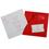 Faire-Part Mariage Traditionnel - Billet à coeurs rouges 22214 thumb