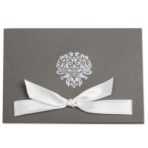 Faire-Part Mariage Traditionnel - Amour scellé 22239