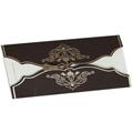 Arabesque chocolat et or - 1