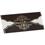 Faire-Part Mariage Traditionnel - Arabesque chocolat et or 22328 thumb