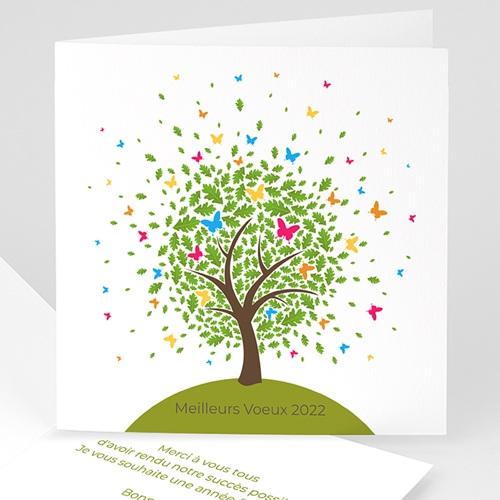 Cartes de Voeux Professionnels - Arbre à papillons 22614