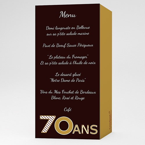 Invitation Anniversaire Adulte Chocolat