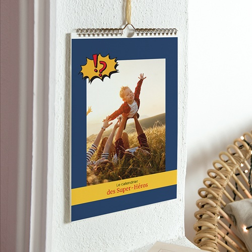 Calendrier Photo 2017 - Super Héros 22994