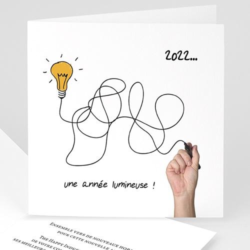 Cartes de Voeux Professionnels - Une année lumineuse 23221