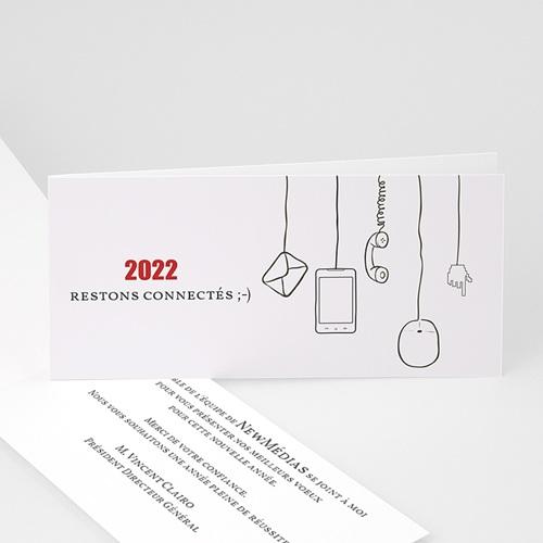 Cartes de Voeux Professionnels - Stay Connected 23233
