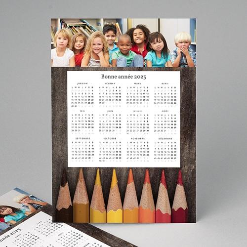Calendrier Professionnel - Crayons de couleurs 23388