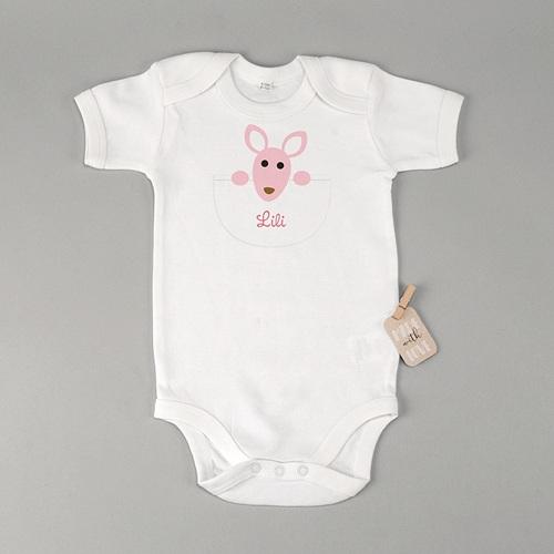 Body bébé - Kangourou Fille 23577