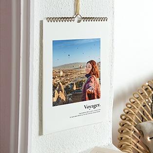 Cr ez votre calendrier photo personnalis pour l ann e 2015 for Calendrier mural 2015