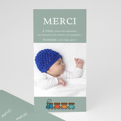 Remerciements Naissance Garçon - Notre trésor 23685