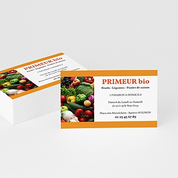 Carte de Visite - Primeur - Maraîcher - 2