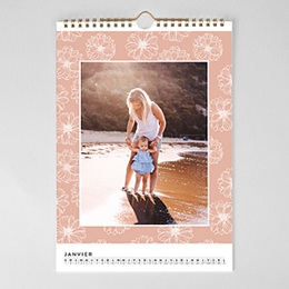 Calendrier Photo 2017 - Esprit floral - 1