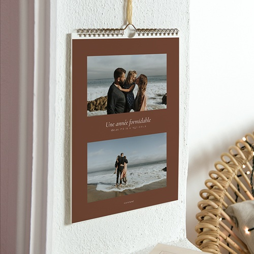 Calendrier Photo 2017 - Marron Terre 23735