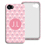 Accessoire tendance Iphone 5/5s  - Tapisserie rose 23789 thumb