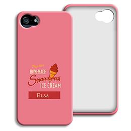 Accessoire tendance Iphone 5/5s  - Homemade Strawberry Ice Cream - 1