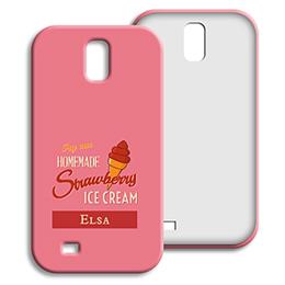Coque Samsung Galaxy S4 - Homemade Strawberry Ice Cream - 1
