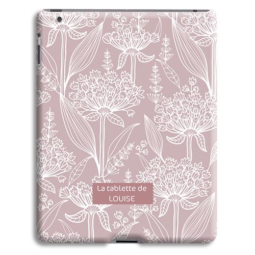 Coque iPad 2 - Fleurs anciennes 23846