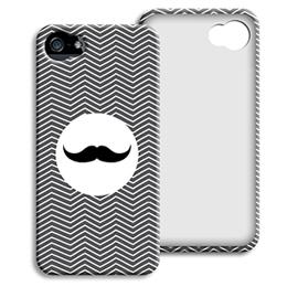 Accessoire tendance Iphone 5/5s  - Chevrons Blancs - 1